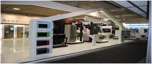 Showroom ra mắt sản phẩm mới của galanz tại hội chợ IFA 2016Berlin – Đức