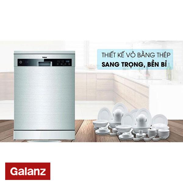 Thông Số Kỹ Thuật Máy Rửa Bát Galanz W60F12T - Galanz Việt Nam
